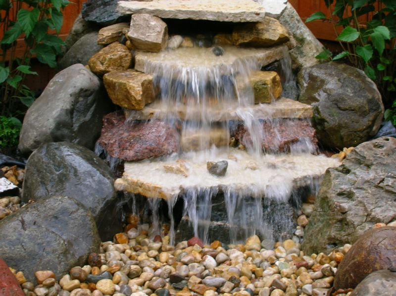 ponds and waterfalls gallery