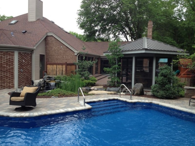 Rockford pool & spa landscapes