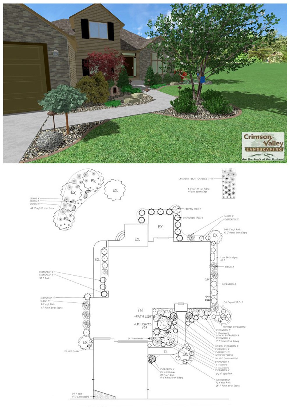 eco-friendly landscape designs in Rockford