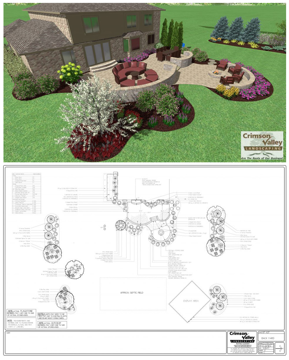 landscape design in Rockford