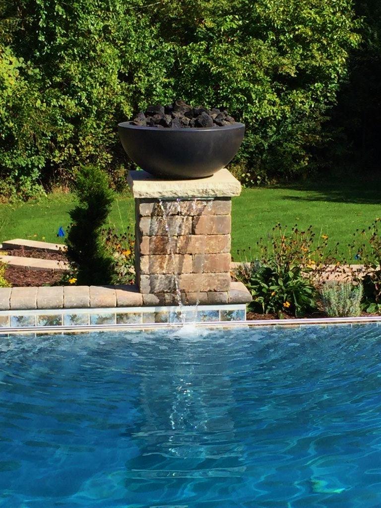 pool & water falls
